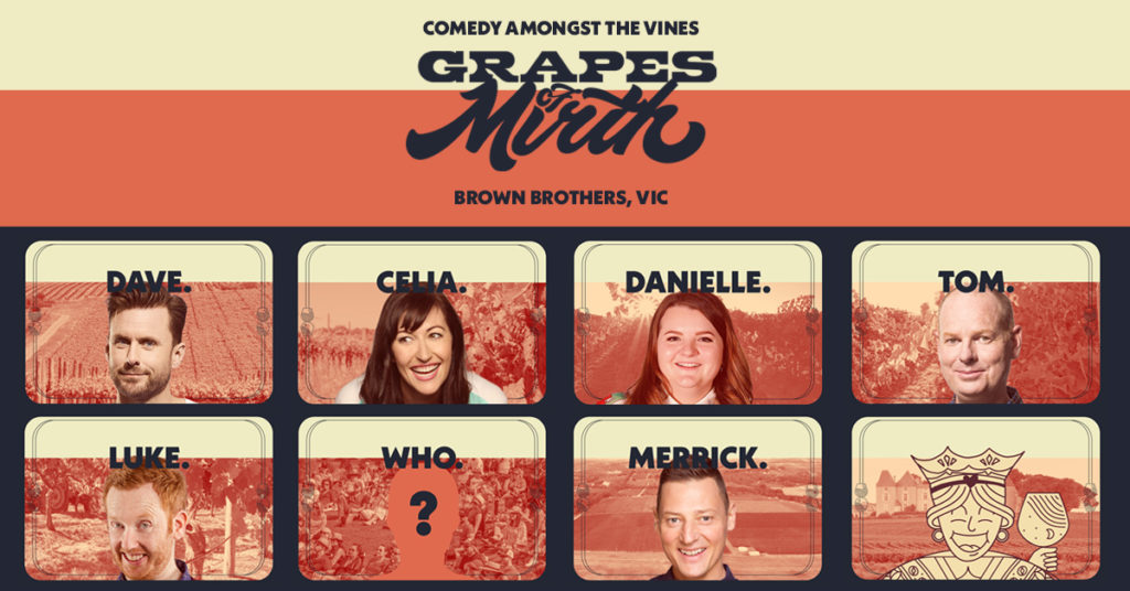 Grapes of Mirth - Brown Brothers Comedy Event