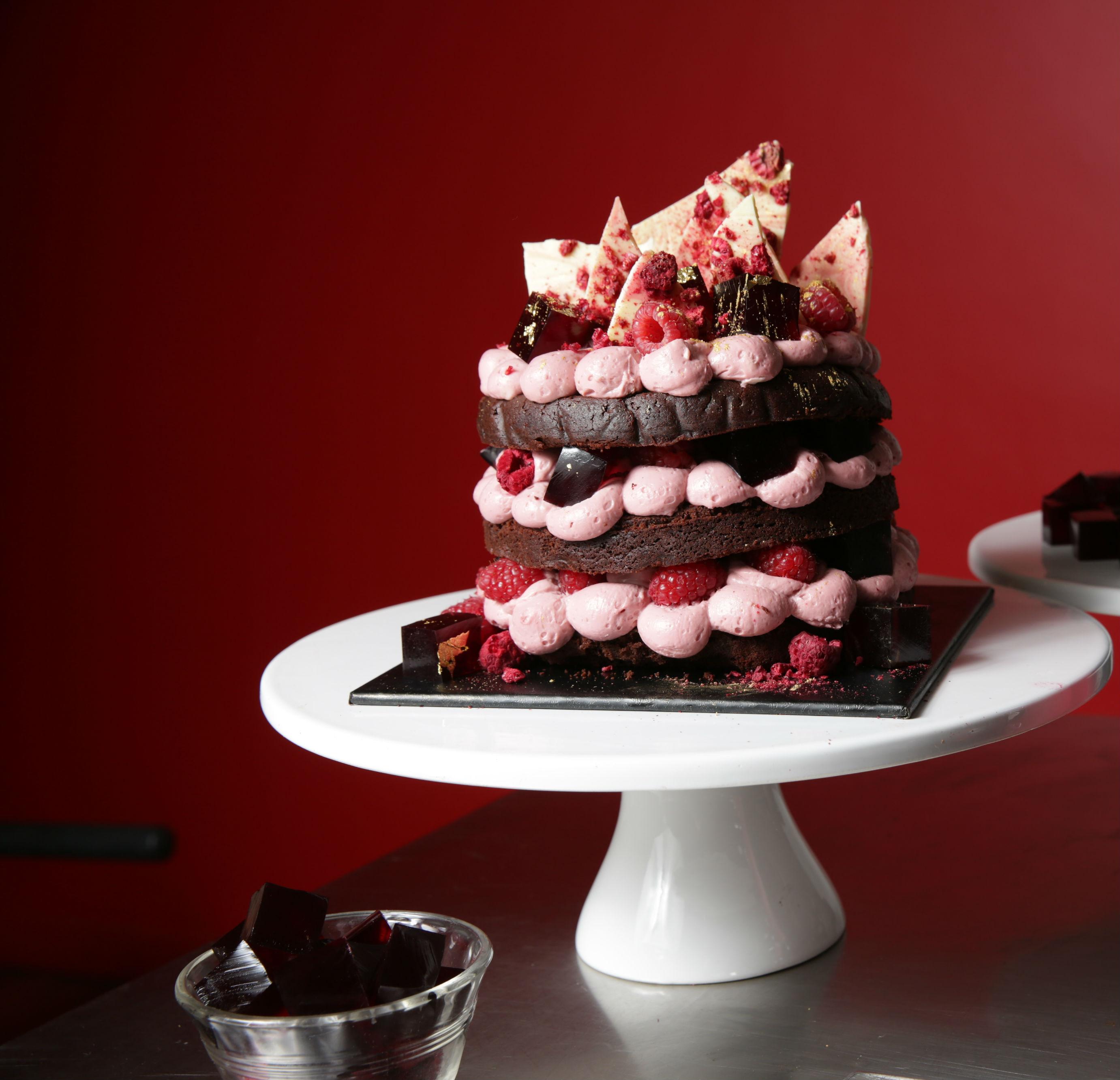 Bake: Katherine Sabbath's Cienna, Chocolate & Raspberry